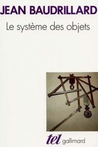 原著Le Système des objets