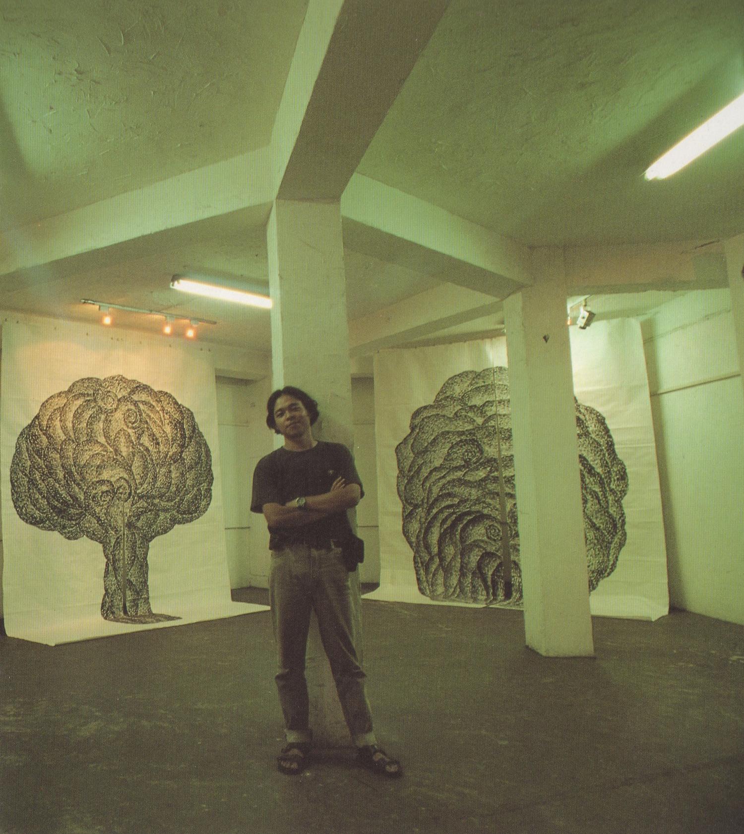 於「邊陲文化」民族路空間,薛湧,《邊陲水墨個展》