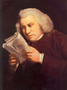配圖2 Samuel Johnson Dictionary